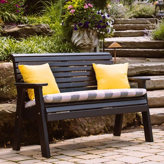 Picture of LuxCraft Poly 4ft. Plain  Bench