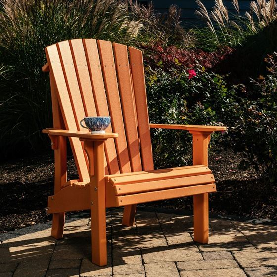 Picture of LuxCraft Poly Royal Adirondack Chair