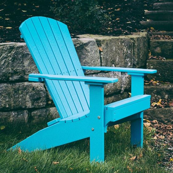 Picture of LuxCraft Poly Lakeside Adirondack Chair