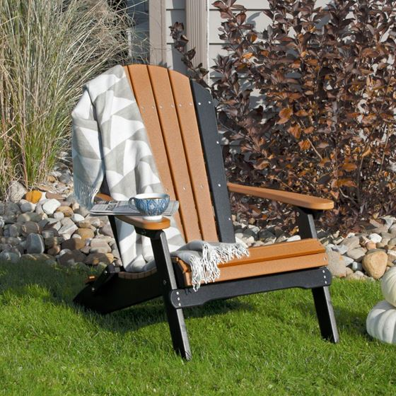 Picture of LuxCraft Poly Folding Adirondack Chair