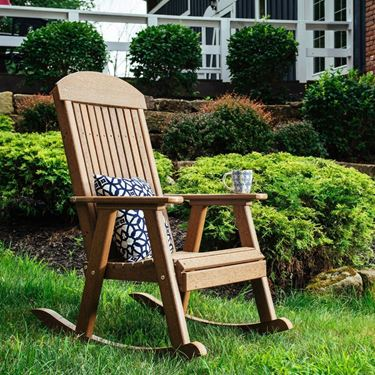 Picture of LuxCraft Poly Porch Rocker