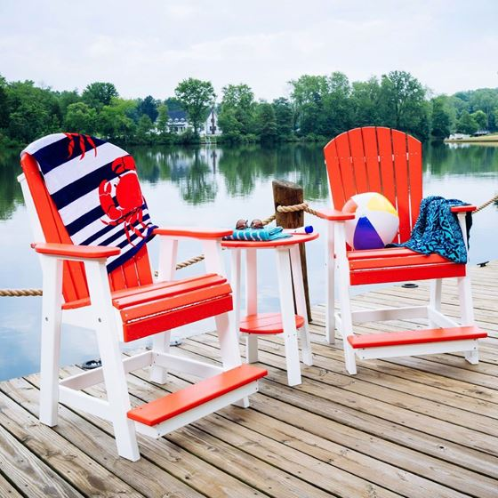 Picture of LuxCraft Poly Adirondack Balcony Chair