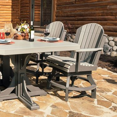 Picture of LuxCraft Poly Adirondack Swivel Chair