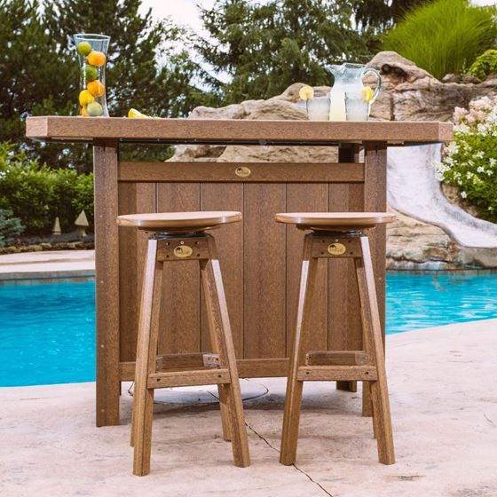 Picture of LuxCraft Poly Bar Stool