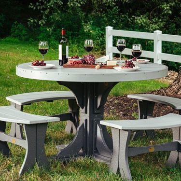 Picture of LuxCraft Poly 4' Round Table
