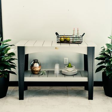 Picture of LuxCraft Poly Island Buffet Table